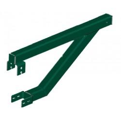 Кронштейн крепления улавливающей сетки Заграда Спорт (80х60)