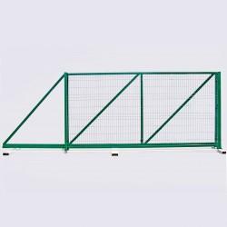 Ворота откатные высота 2.40м ширина 3.0м