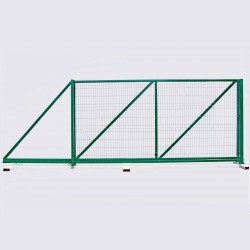 Ворота відкатні висота 2.40м ширина 3.0м