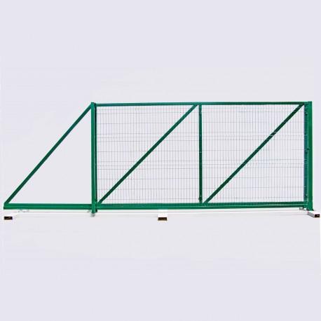 Ворота 2,4х5м