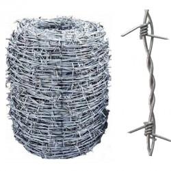 Колючая проволока двухосновная Заграда