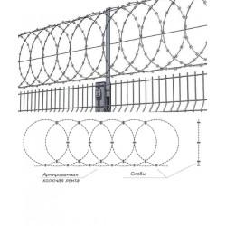 Заграда Егоза плоская ПББ-600 2.2/3.2мм 6м