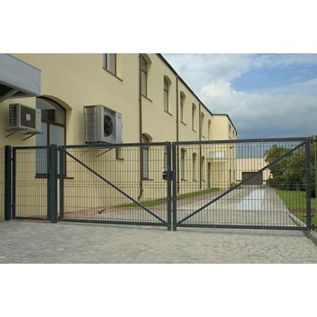 Ворота распашные 2.0х5м